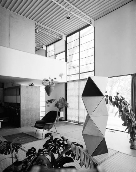 Architectural modeling the charles eames house