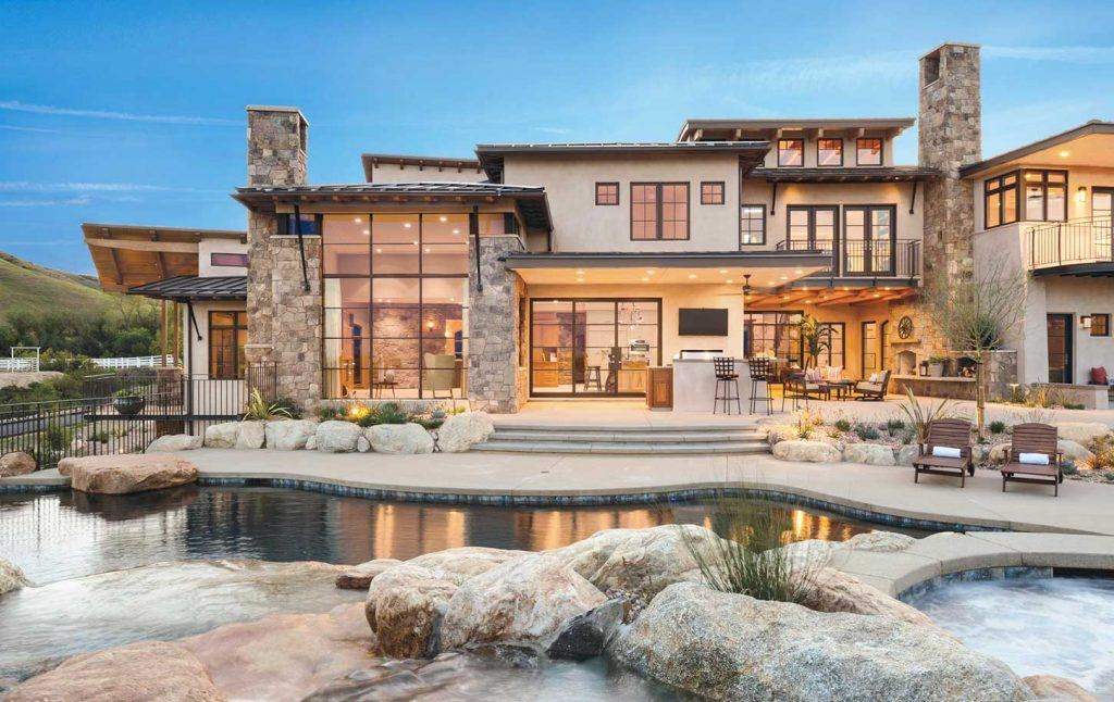 Modern Rustic Architecture by HartmanBaldwin