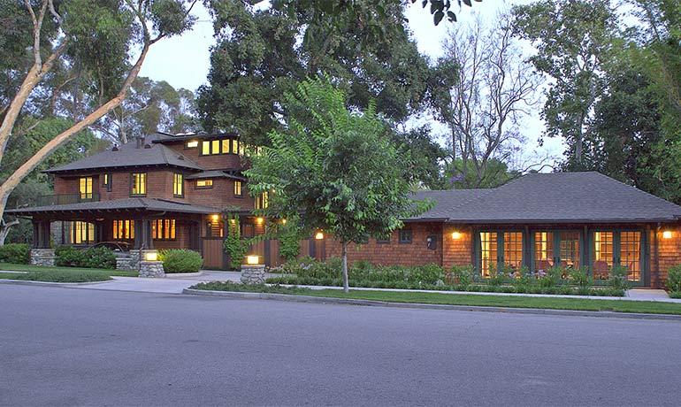 President of Claremont McKenna College home remodel by HartmanBaldwin