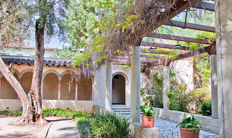 Margaret Fowler Garden at Scripps College Renovation by HartmanBaldwin in Claremont, CA