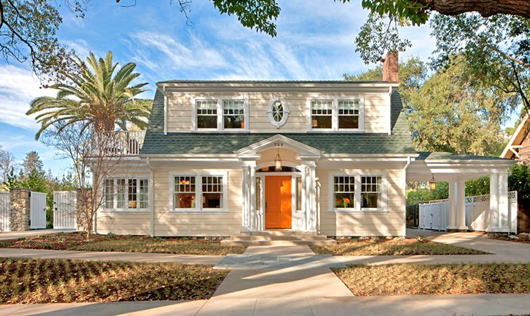 HartmanBaldwin partnered with historic preservation architect Kelly Sutherlin McLeod of Pitzer College President's Residence in Claremont, CA