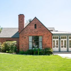 Old English Home Phases Into Rustic, Contemporary Space